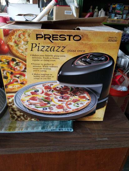 Presto Pizza Oven Tested