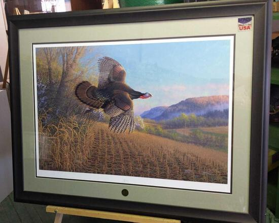 """NWTF Fly Down by Michael Sieve 989/2000 44""""x34"""""""