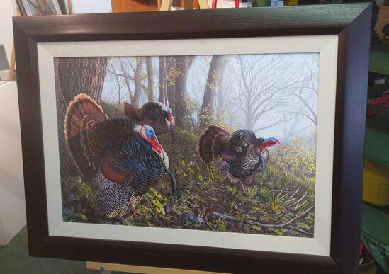"""Trio of Toms by Pay Pauley on Canvas 479/2200 - 39""""x29"""""""
