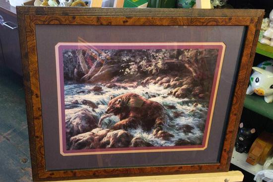 """Bear Picture by Lee Frankinson 22""""x18"""""""