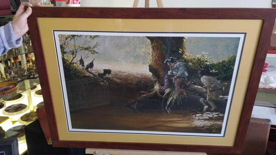 """NWTF Christopher B. Walden 2000 - 4113/4800 Signed 38""""x28"""""""