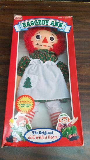 Playskool Raggedy Ann Doll