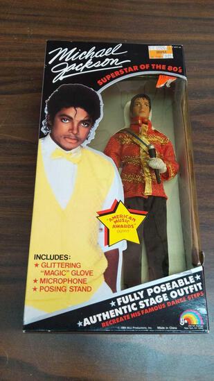 Michael Jackson Superstars of the '80s Doll