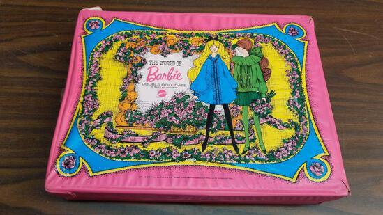 Barbie Double Doll Case w/Dolls
