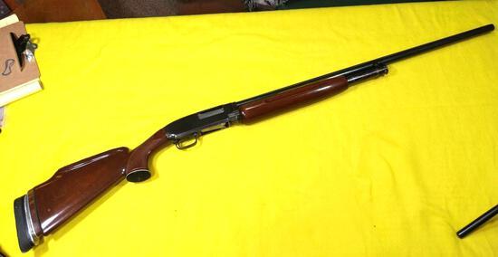 Winchester Model 12 12 Ga Full - Nickel Steel - Pump Shotgun SN#420592