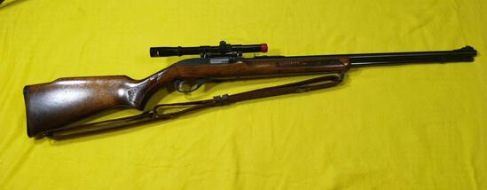 Glenfield Mod. 60 22 LR Only Rifle w/4x15 Scope & Sling SN#24541102