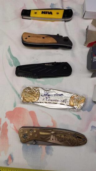 NRA 5 Knife Lot