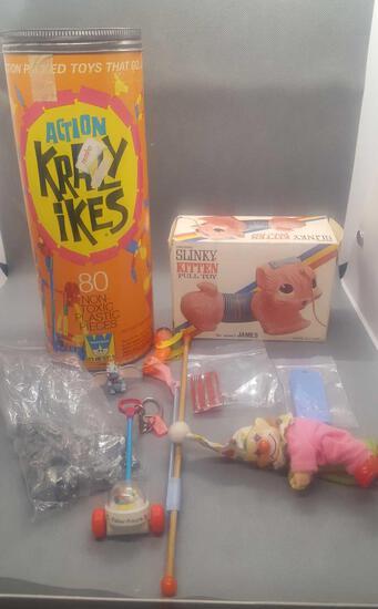Misc vintage toys