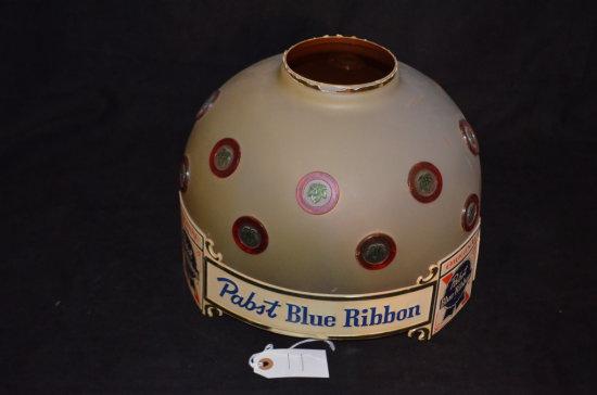 Pabst Blue Ribbon Beer Advertising Lamp Shade