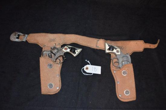 Texan Junior Pistols & Holster