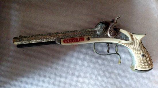 Double Barrel Pirate Cap Gun/Pistol