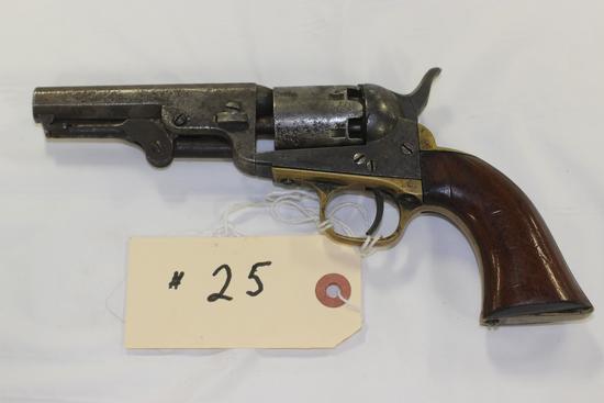 Colt 1845 Pocket Model .31 cal revolver
