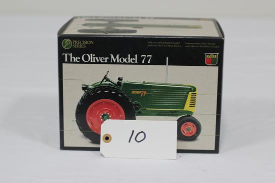 #10 OLIVER MODEL 77 TRACTOR 1/16-SCALE PRECISION SERIES NO. 4 (NIB)