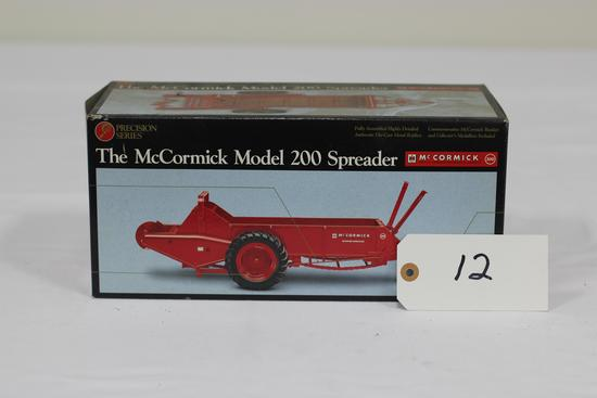 #12 McCORMICK MODEL 200 SPREADER 1/16-SCALE PRECISION CLASSICS NO. 9 (NIB)