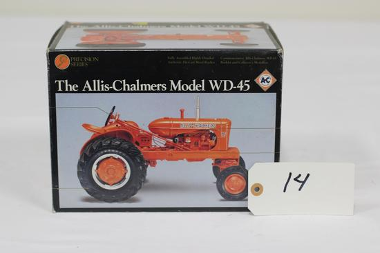 #14 ALLIS-CHALMERS MODEL WD-45 TRACTOR 1/16-SCALE PRECISION SERIES NO.3 (NIB)