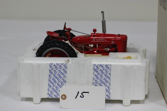 #15 FARMALL H TRACTOR 1/12-SCALE FRANKLIN MINT PRECISION MODEL (NIB)
