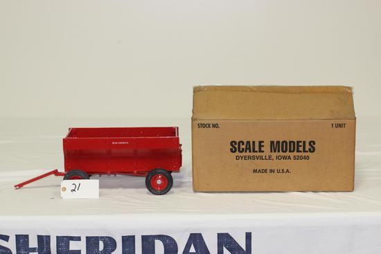 #21 McCORMICK FLARE BOX WAGON 1/8-SCALE (NIB)
