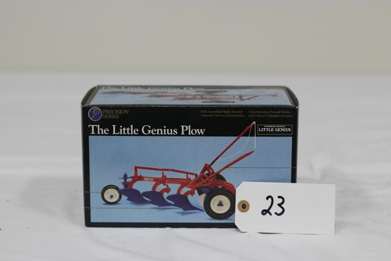 #23 LITTLE GENIUS PLOW 1/16-SCALE PRECISION SERIES NO. 5 (NIB)