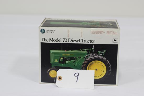 #9 JOHN DEERE MODEL 70 DIESEL TRACTOR 1/16-SCALE PRECISION CLASSIC (NIB)