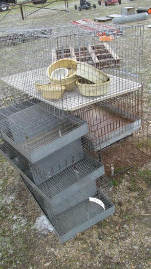 37-6 - ASSORTMENT OF (7) ANIMAL CAGES