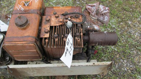 42-2 - 8 HP BRIGGS, 42-3 - 3-HP BRIGGS, 42-4 - (3) LAUSON & BRIGGS GAS ENGINES