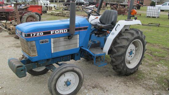 21-1 - FORD 1720 DIESEL WIDE-FRONT TRACTOR