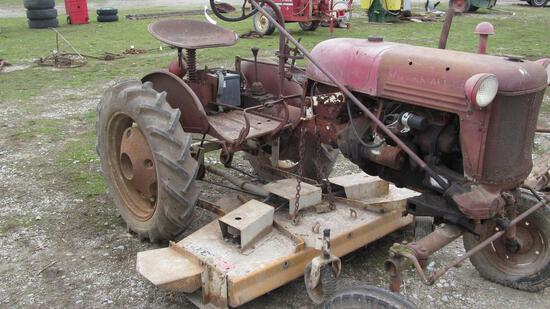 23-1 - FARMALL CUB WITH WOODS BELLY MOWER (GAS)