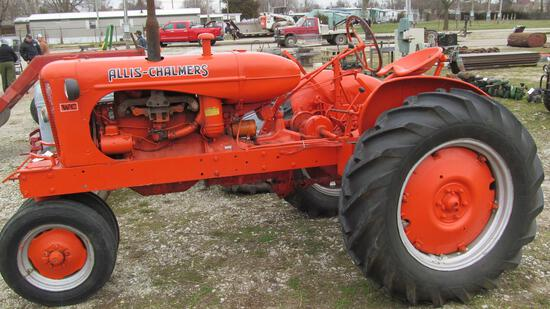 45-5 - ALLIS CHALMERS WC NARROW FRONT TRACTOR (GAS)