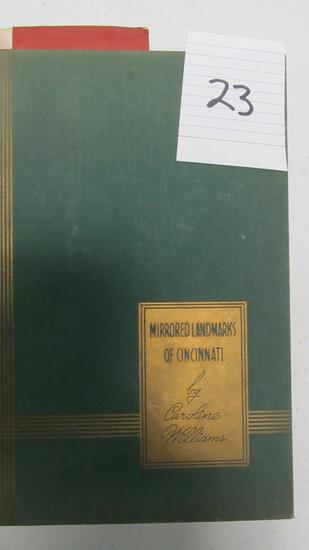 Mirrored Landmarks Of Cincinnati, First Edition, C. 1939 By Caroline Williams, Edited By William Mcl