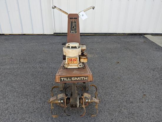 Magna Till Smith Rototiller With Magna 3.5-hp Motor