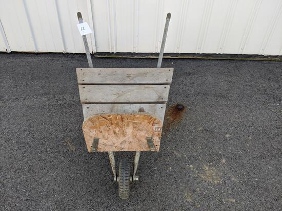 Homemade Firewood Cart
