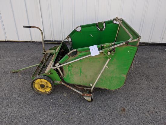 John Deere 31t Lawn Sweeper