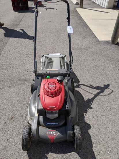 Honda Hrx 217 Versamow Self-propelled Push Mower With Bagger