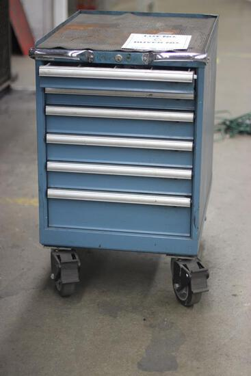 6-DRAWER TOOL CHEST FULL OF MACHINIST TOOLS AND TOOLING
