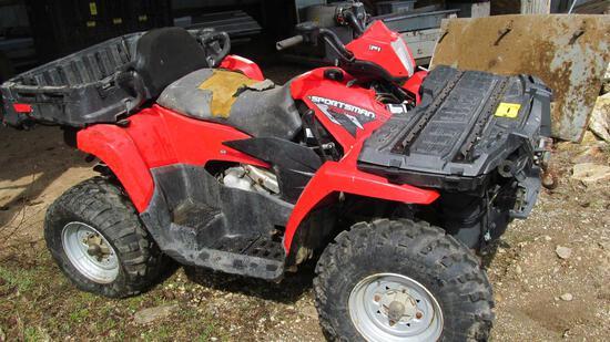 Polaris Sportsman 700 Twin 4-wheeler ATV