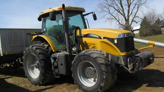 Challenger MT655C MFWD tractor with 900/50 R42 rear tires.