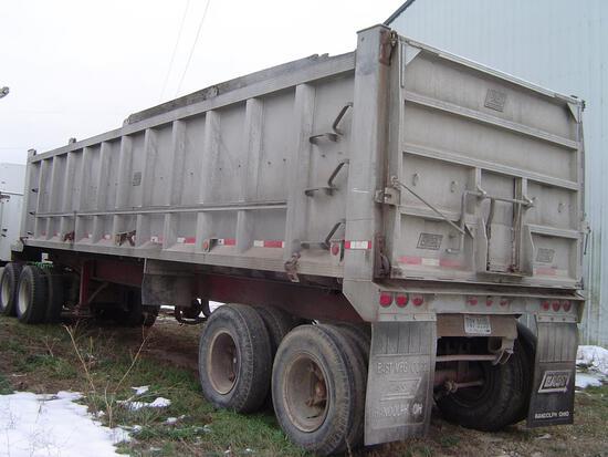 East D-35 30' semi trailer