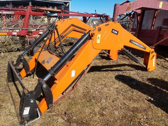 Agco FL600 hydraulic front loader (does not includ