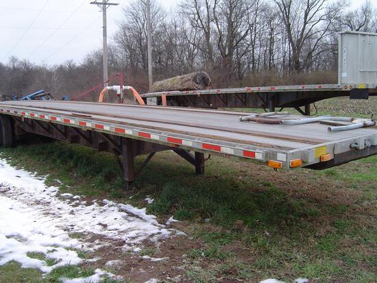 Dorsey 45' flatbed semi trailer