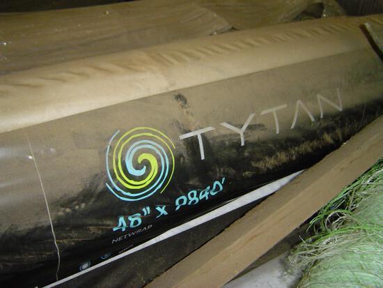 """Tytan bale wrap in 48"""" x 9840' rolls (on pallet)"""