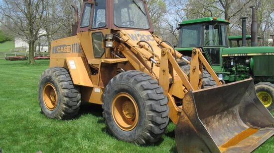 CASE W20C ARTICULATED WHEEL LOADER WITH 8' BUCKET & 1,723 HOURS (PRODUCT ID