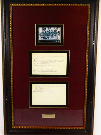 Flip Wilson Apollo Notes (Others in Smithsonian)