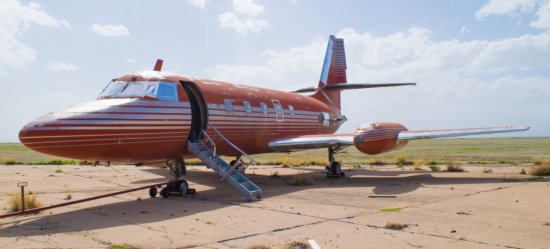 Elvis Presley's Private Lockheed Jetstar Jet