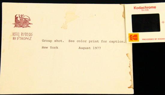 The Beach Boys Group Shot NEVER BEFORE SEEN 1977