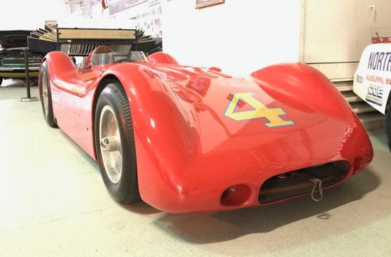 1950's Q. Epperly Bill Vukovich Museum Race Car