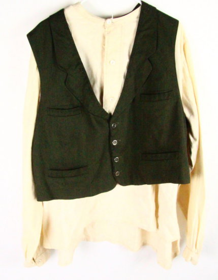 Kenny Rogers Screenworn Vest & Shirt W/COA