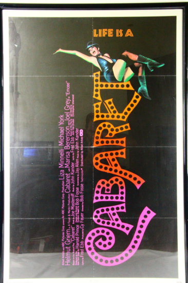 Liza Minnelli Framed Cabaret Orig. Movie Poster