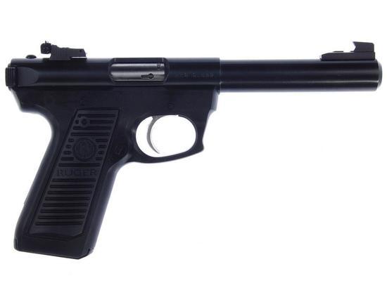 Manufacturer: Ruger Model: 22/45 Gauge/Cal: .22 Type: Target Auto Pistol Serial #: 220-62099 Misc: