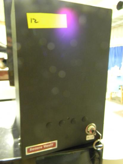 Locking Secure Vault gun cabinet with one key 8.5W x 6.5H x 13D