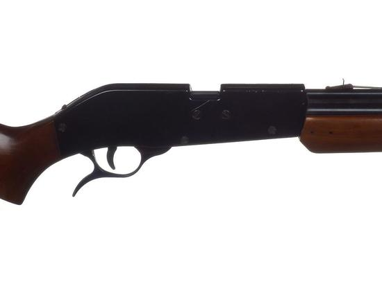 Manufacturer: S&W Model: 77A Gauge/Cal: .22 Type: Air Rifle Serial #: G000480 Misc: Works